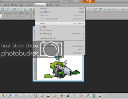 Making a jpeg into a png tube.