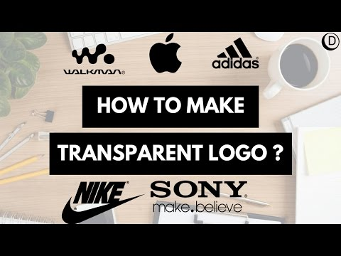 How to make transparent logo Icon Tutorial in Inkscape.