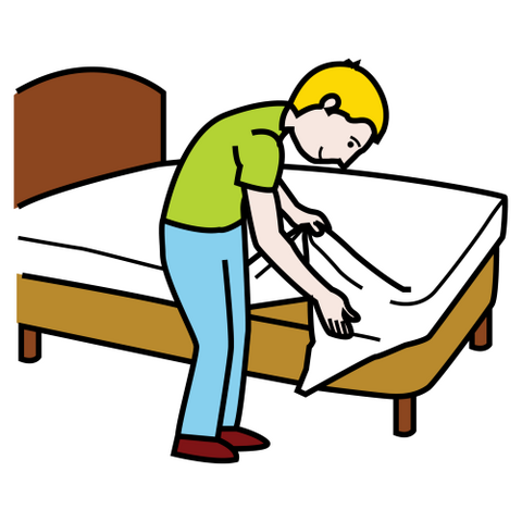 Make My Bed Clipart Clipart Kid.