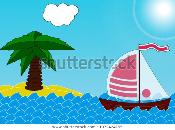 My Own Vector Clip Art Sea Stock Vector (Royalty Free.