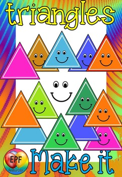 triangles make your own clip art(FREE.