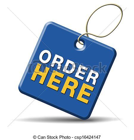 Order Clip Art.
