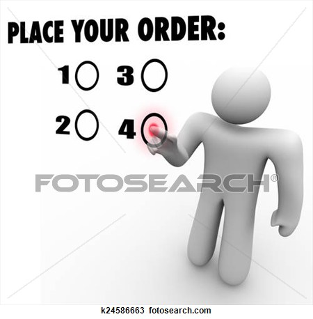 Make meme with Place Your Order Clipart.