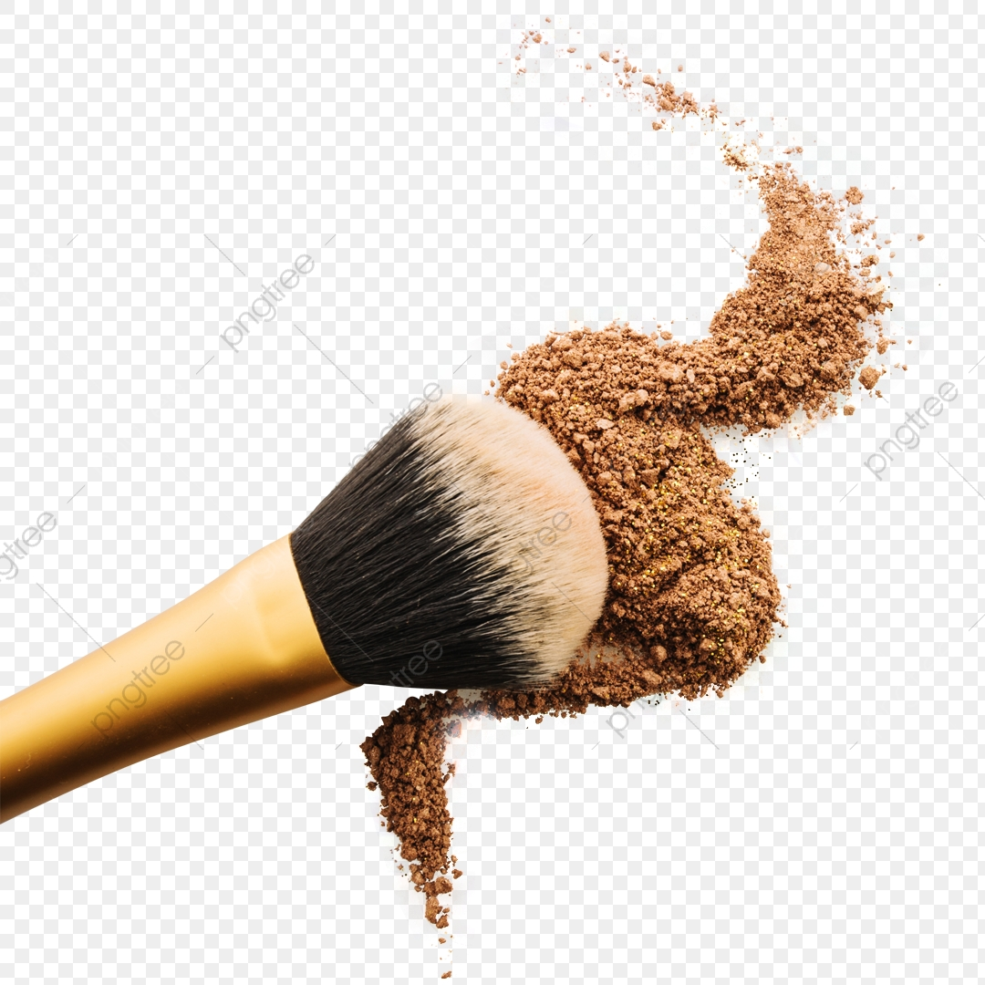 Brush Make Up Powder, Brush, Makeup, Make Up PNG Transparent.