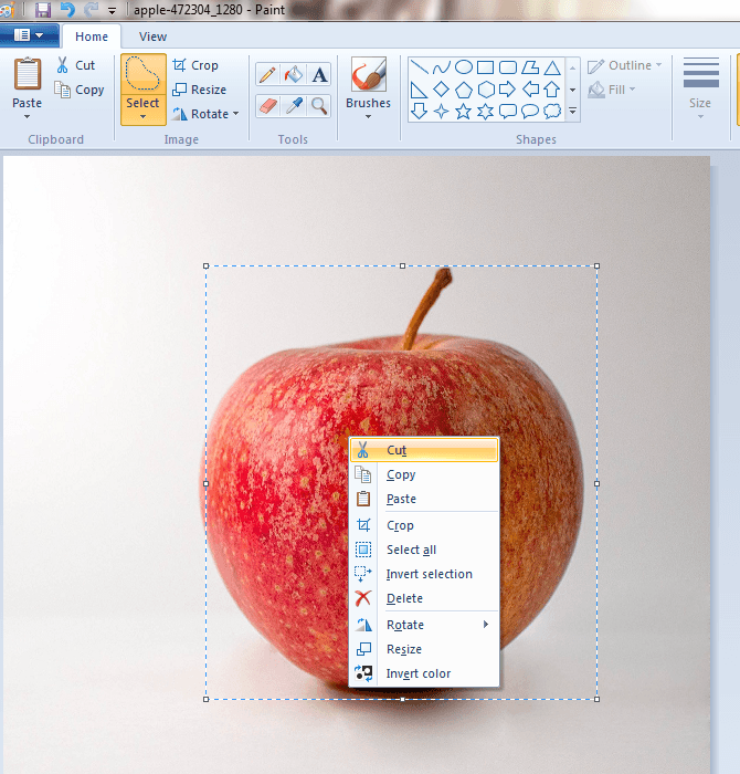 How to make background of images transparent in Microsoft.