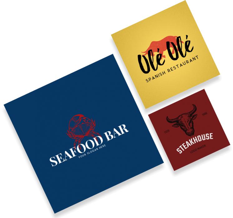 Make a Restaurant Logo.