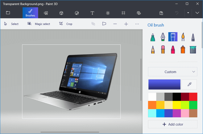 How to Make Background Transparent in Paint and Paint 3D.