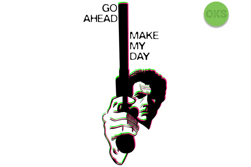 make my day svg, svg files, vector, clipart, cricut.