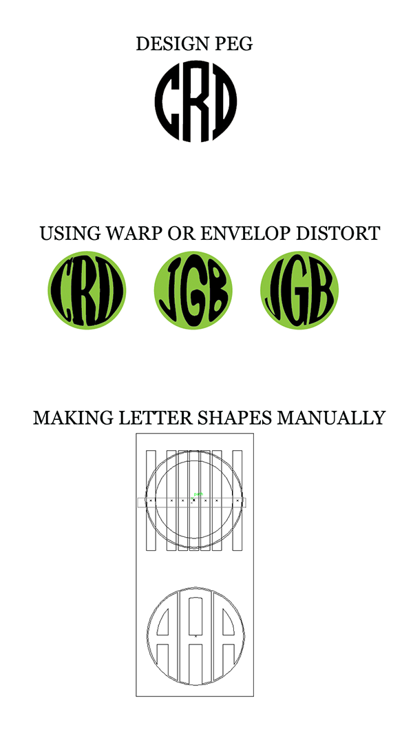 What is the best way to make text fit inside a circular.