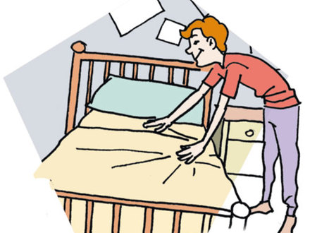 Make Your Bed Clipart & Free Clip Art Images #12906.