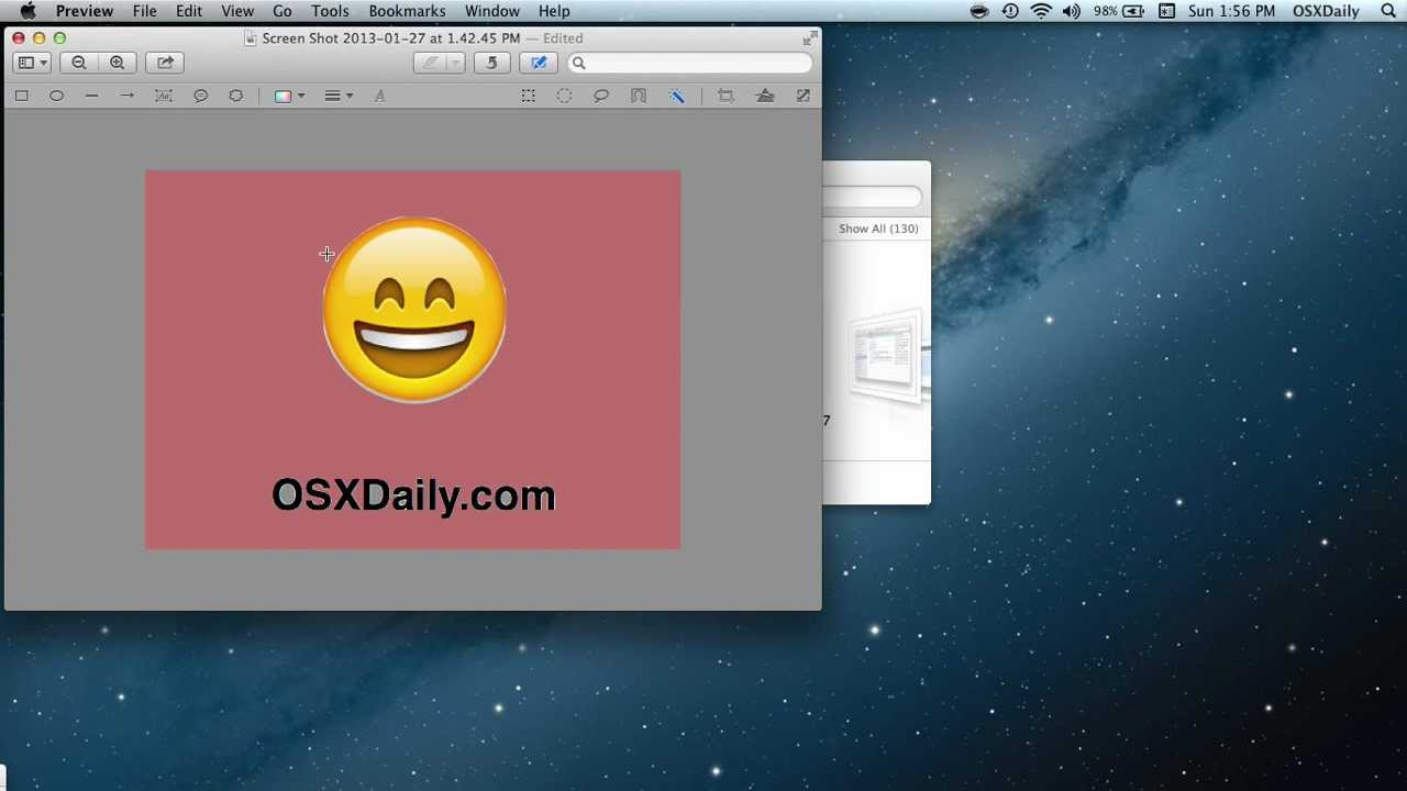 Make a Transparent PNG with Preview in Mac OS X.