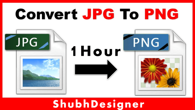 create transparent png logo or convert jpg to png.