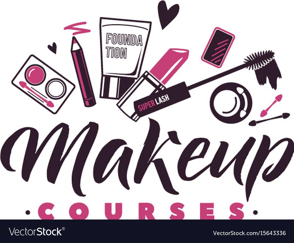 Makeup courses logo of.