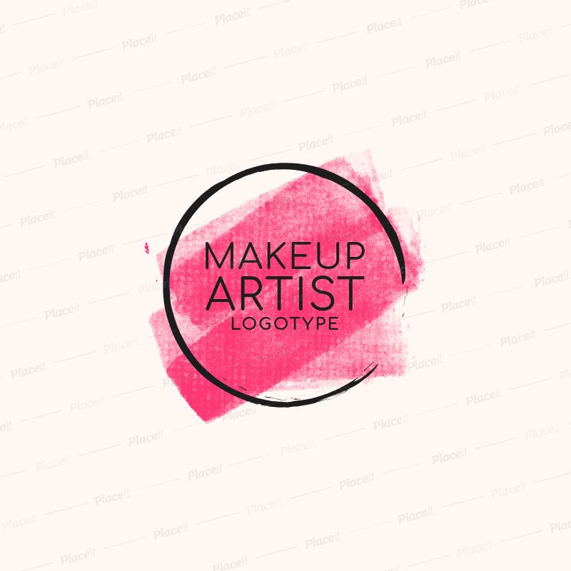 Makeup Artist Logo Maker a1139.