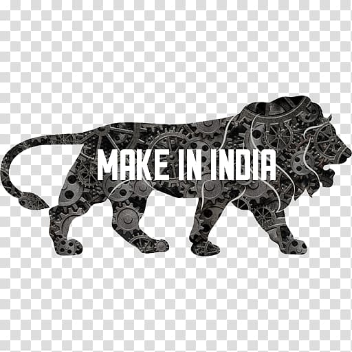 Make in India Government of India Logo Manufacturing, India.