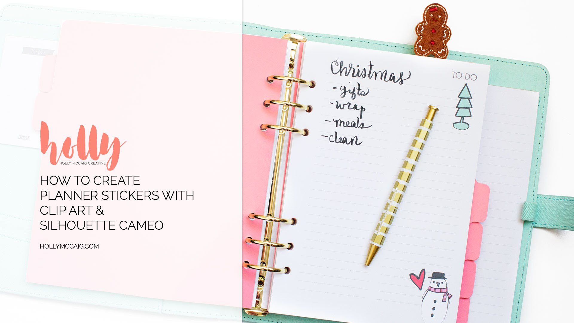 How to Make Your Own Planner Stickers with Clip Art and a.