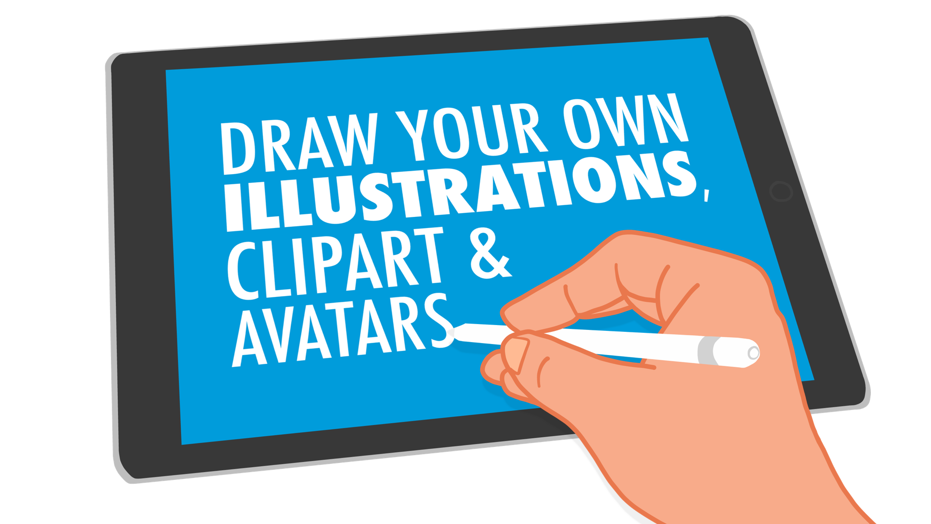 Draw Your Own Illustrations, Clipart & Avatars.