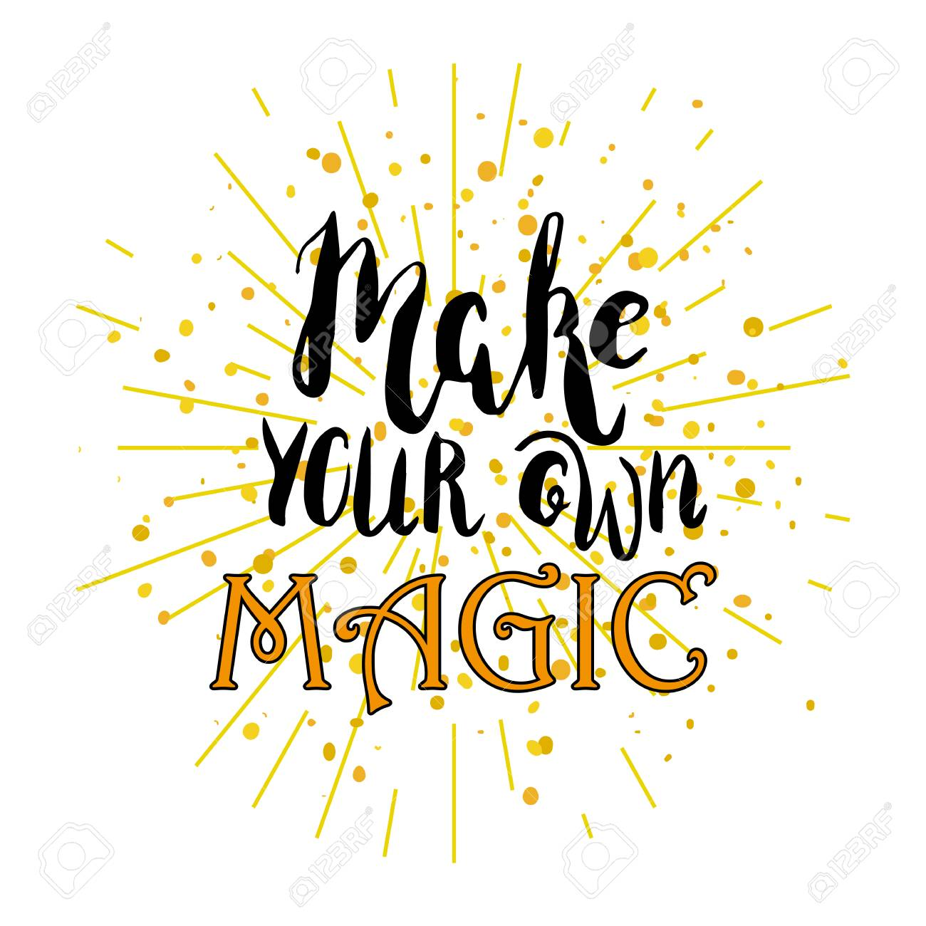 Make your own magic..