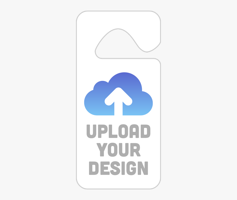 Upload Your Own Parking Permit Hang Tag Design.