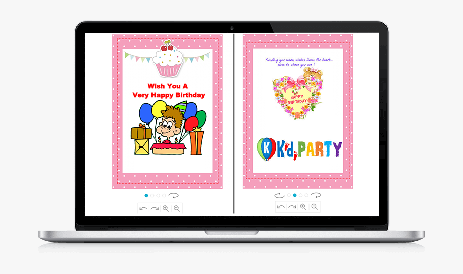 Online Birthday Card Designer Tool.