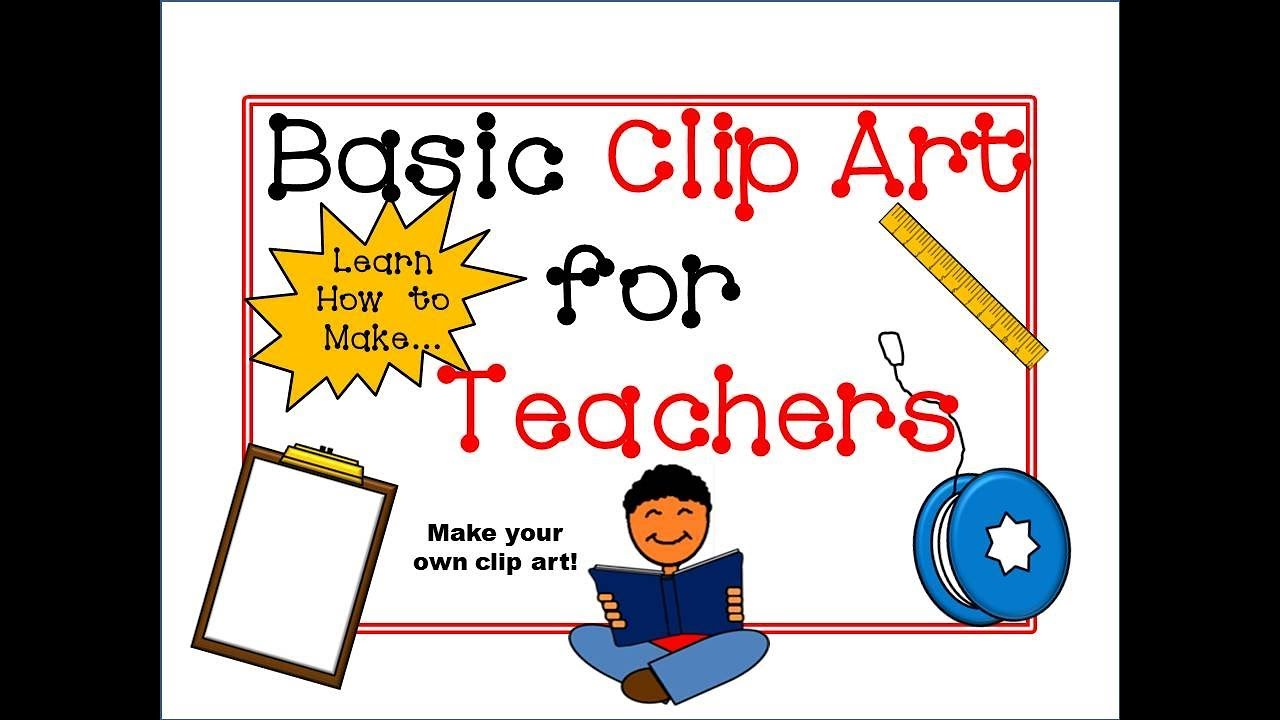 How to Make Basic Clip Art Tutorial for Teachers! (PowerPoint).