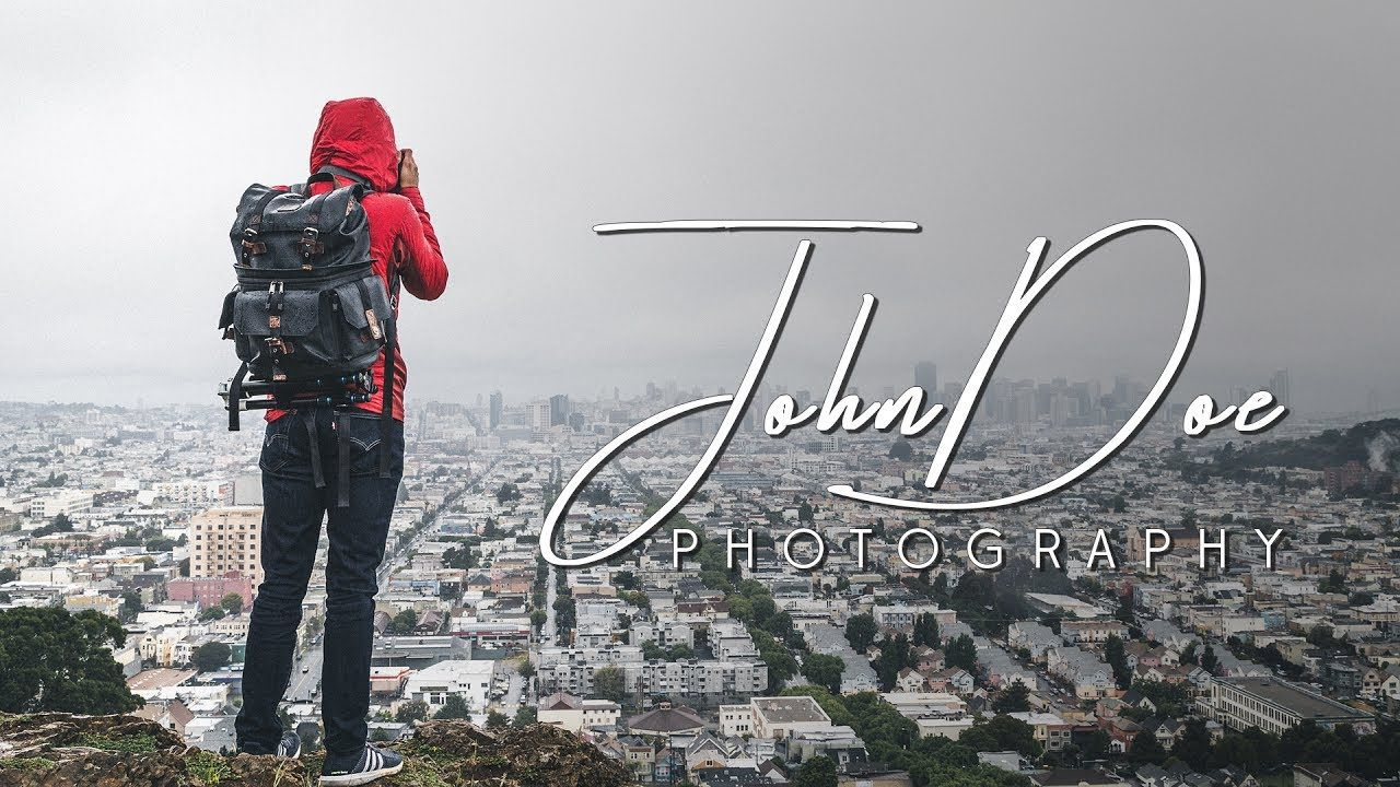 How To Make Your Own Photography Logo In Photoshop.