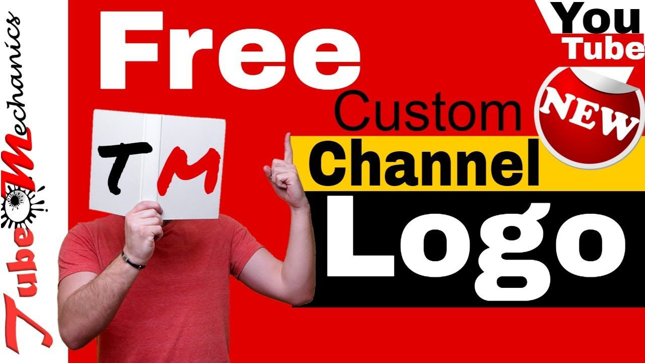How to Make your Own Custom YouTube Logo For Your Channel.