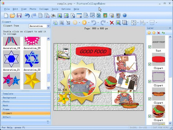 Collage maker clipart.