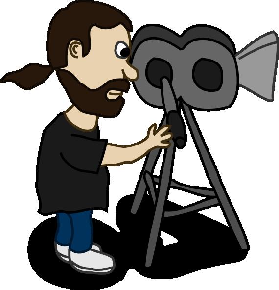Comic Character Film Maker Clip Art at Clker.com.