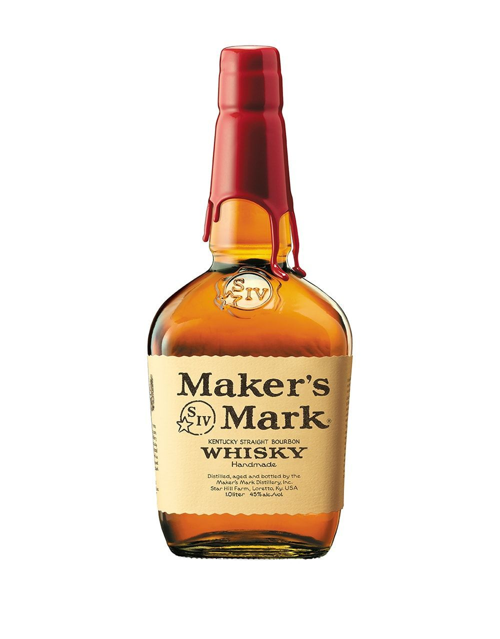 Maker\'s Mark Bourbon Whisky.