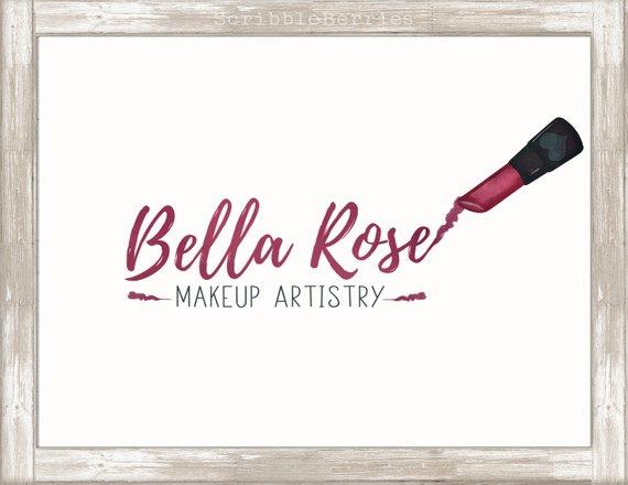 Makeup Artist Logo, Lipstick Logo, Lipstick Clip Art.