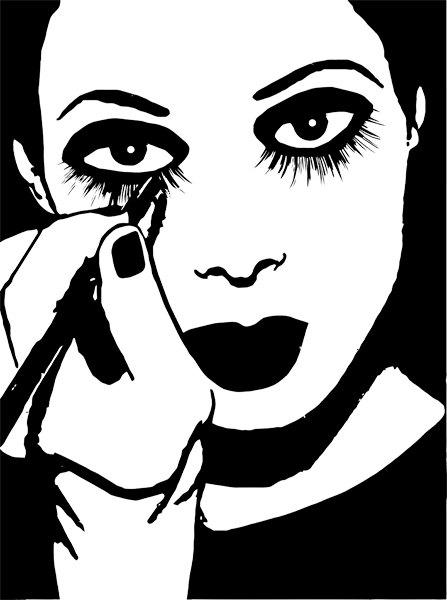 Makeup clip art.