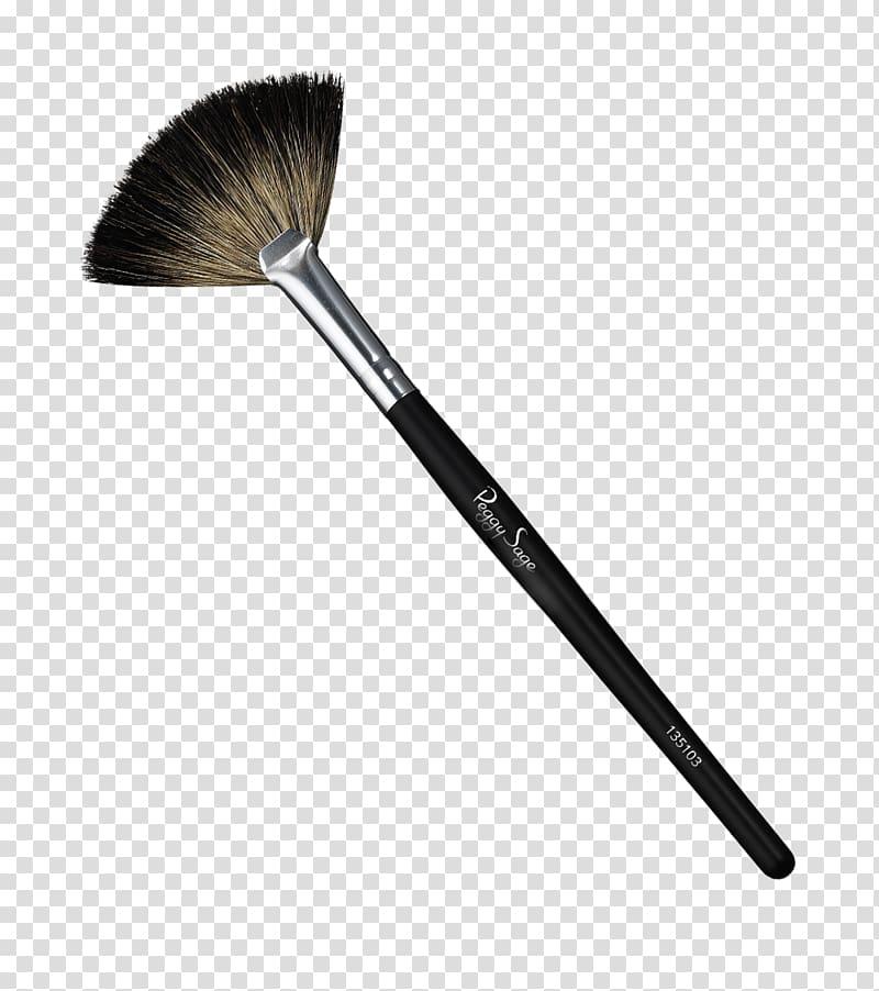 Paintbrush Cosmetics Makeup brush Face Powder, fan.