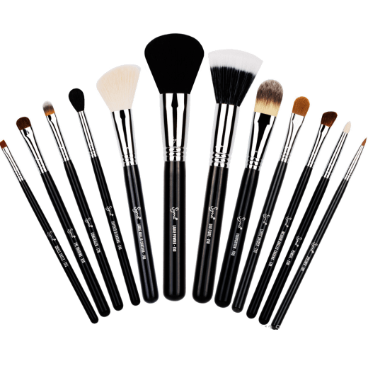 Range Of Makeup Brushes transparent PNG.