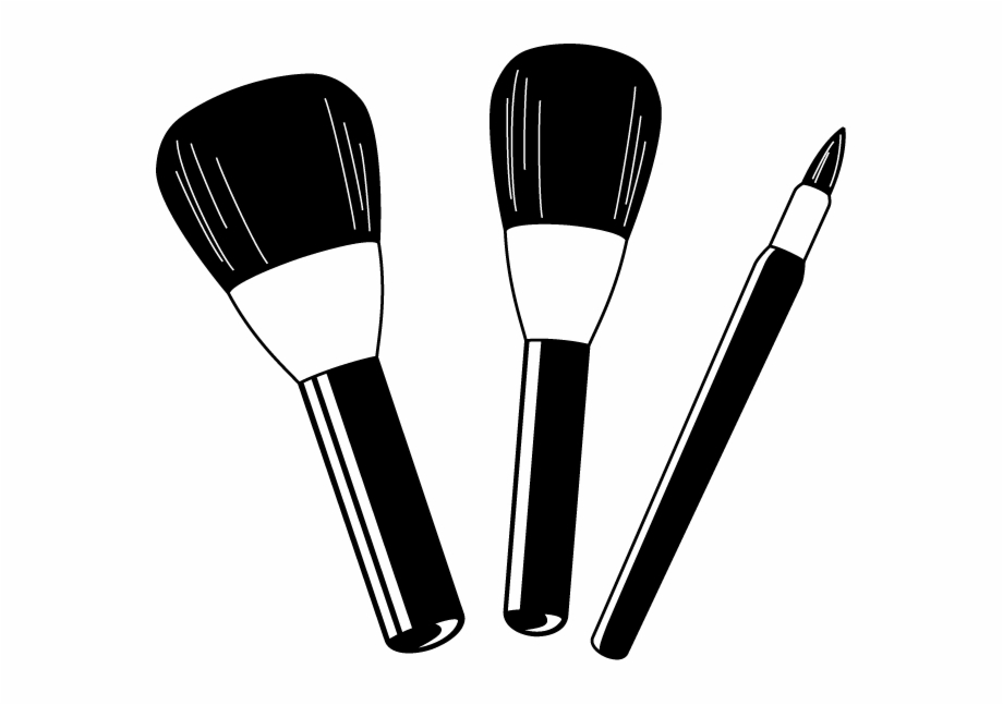 Makeup Brush Clipart.
