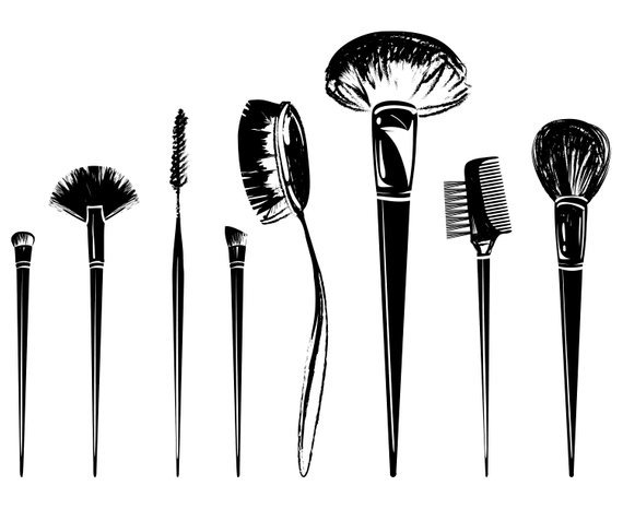 Makeup brush clipart 1 » Clipart Portal.