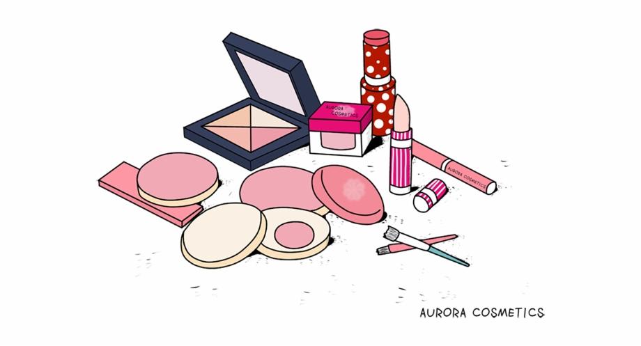 Cosmetic Cartoon Png Transparent Background Makeup Clipart.