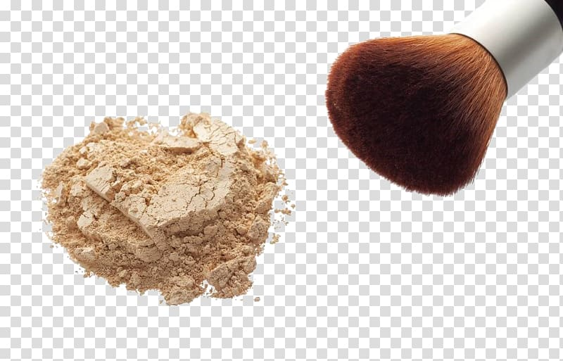 Brown makeup powder, Face powder Cosmetics Foundation.