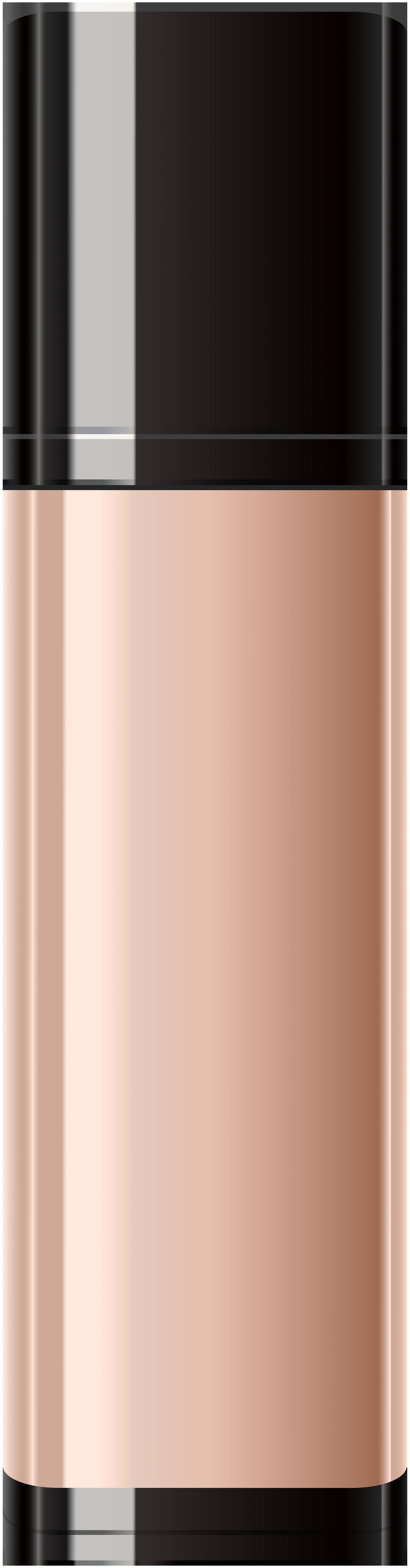 Foundation Makeup Bottle PNG Clip Art Image.