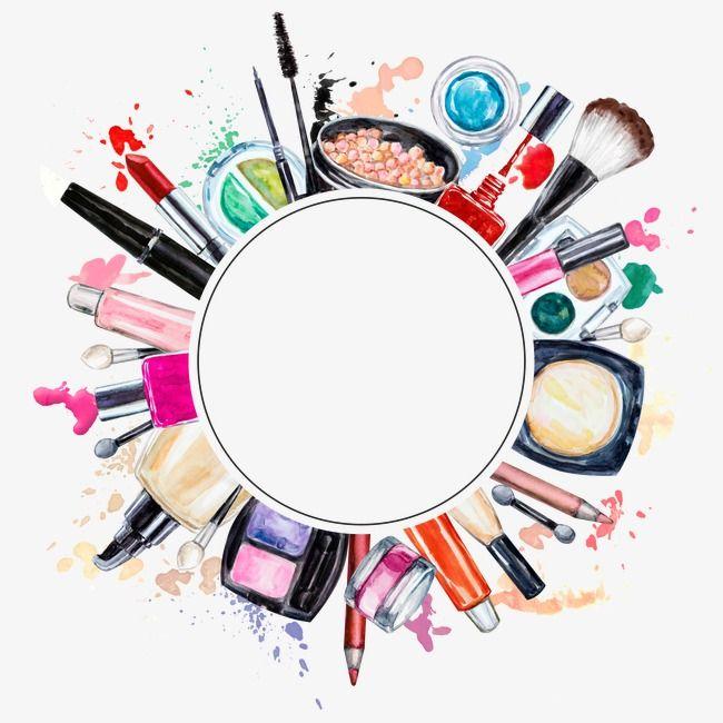 Creative Makeup Tools, Makeup Clipart, Tools Clipart, Beauty.