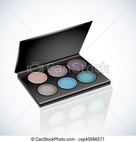 Makeup Cosmetics Eyeshadow Palette.