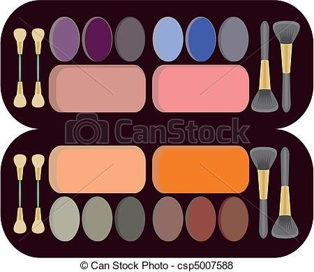 Makeup Kit Clipart.