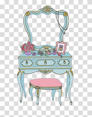 Dresser clipart makeup desk, Dresser makeup desk Transparent.