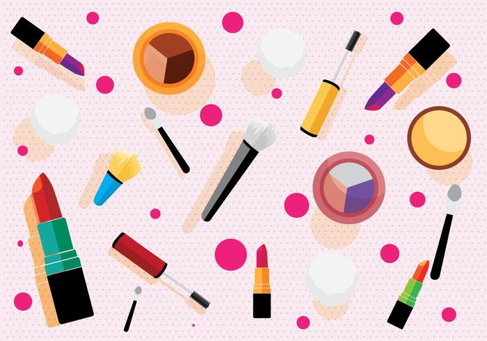 Makeup Pattern Vector.