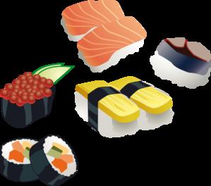 Sushi Invitation Clip Art at Clker.com.