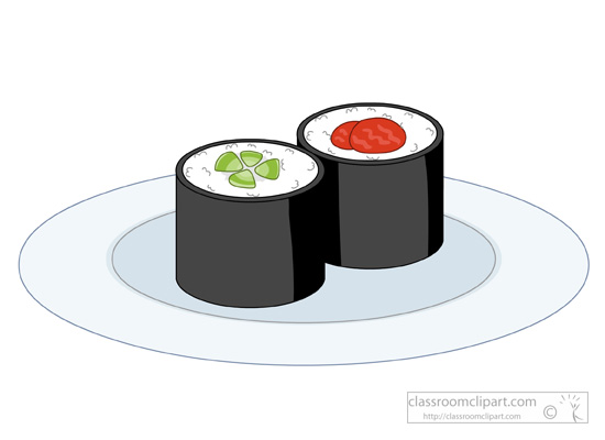 Seafood Clipart : plate.