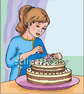 Cake Decorating Clipart.