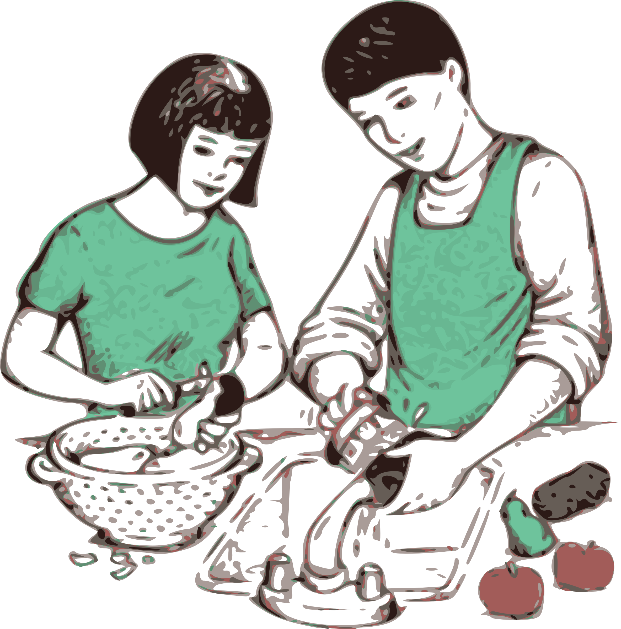 Making Food Clipart.
