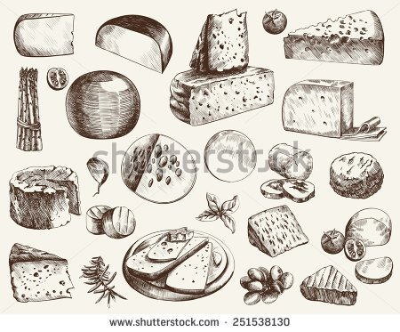 Cheese Stock Images, Royalty.
