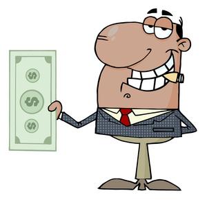 Business Money Clipart.